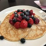 sweet-fruit crepe